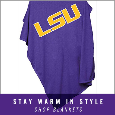 Cozy Up with LSU Blankets