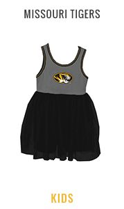 Shop Missouri Tigers Kids Apparel