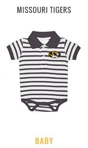 Shop Missouri Tigers Baby Apparel