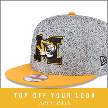 Head in to Rally House for Mizzou headwear