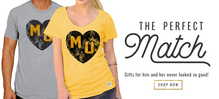 Mizzou Valentine's Gifts for Him & Her