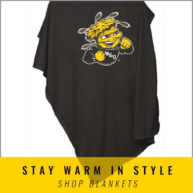 Get Cozy with Wichita State Blankets