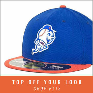 Head into Rally House for Mets Headwear