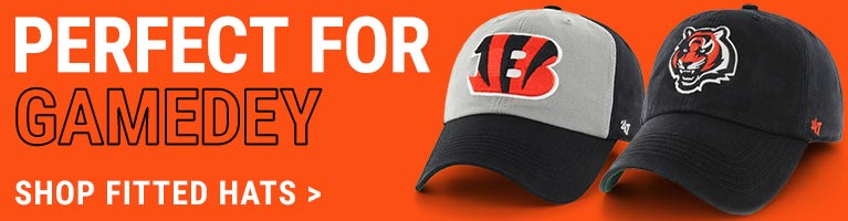 Bengals Fitted Hats