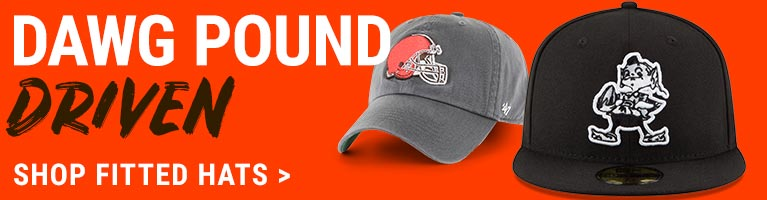 Cleveland Browns Fitted Hats