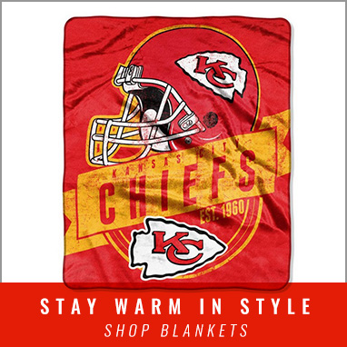 Get Cozy with Chiefs Blankets