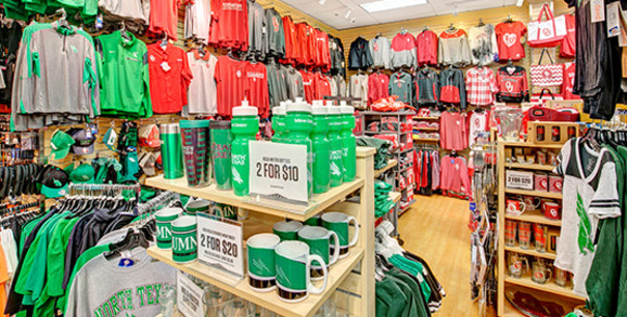 North Texas Mean Green and OK Sooners Apparel And Gear