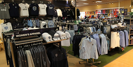 Sporting KC Apparel and Gear