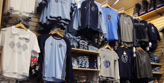 Sporting KC Kids Apparel and Gear
