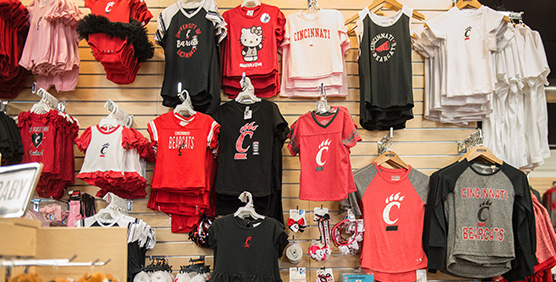 Cincinnati Bearcats Kids Apparel and Gear
