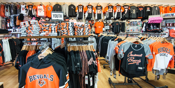 Cincinnati Bengals Sweatshirts and Tees