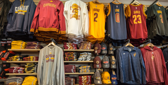 Cleveland Cavaliers Apparel and Gear