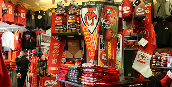 Kansas City Chiefs Souvenirs and Pennants