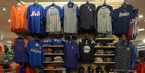 New York Mets & Yankees Apparel and Gear