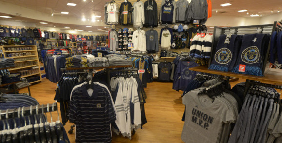 Philadelphia Union Apparel and Gear