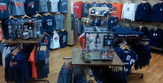 Detroit Tigers Apparel and Gear