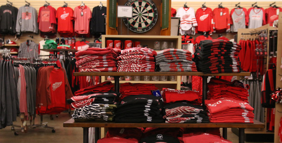 Detroit Red Wings Apparel and Gear