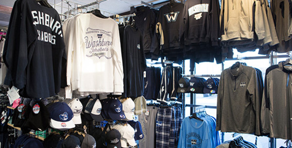 Washburn Ichabods Apparel and Gear