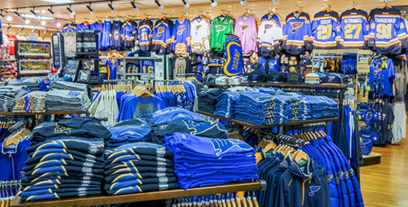 St Louis Blues Apparel and Gear