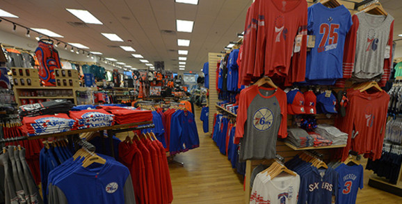 Philadelphia 76ers Apparel and Gear