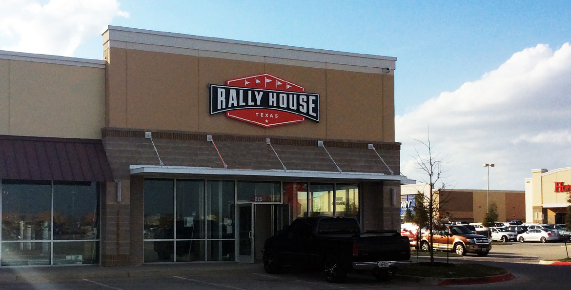 Rally house locations : Restraunt vouchers