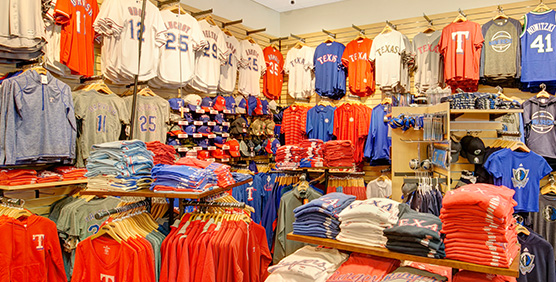 Texas Rangers Apparel and Gear