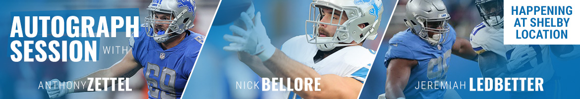 Meet Anthony Zettel, Nick Bellore and Jeremiah Ledbetter at Rally House Shelby on December 19
