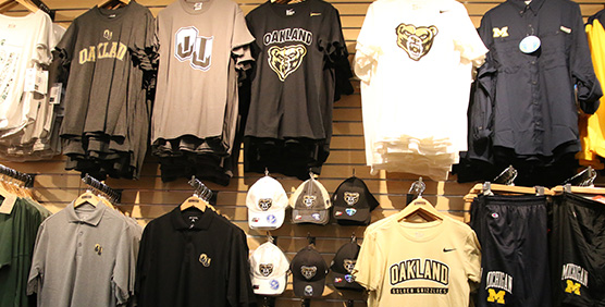 Oakland University Apparel and Gear