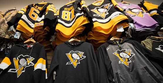 Pittsburgh Penguins Apparel and Gear