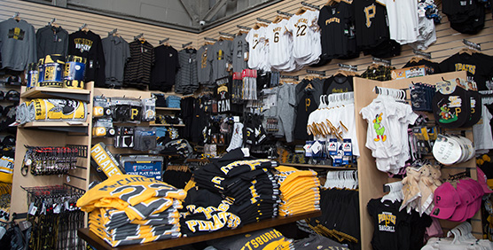 Pittsburgh Pirates Apparel and Gear