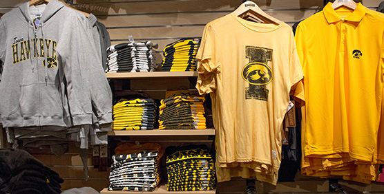 Iowa Hawkeyes Apparel and Gear