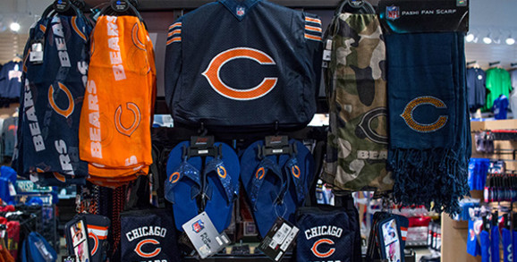 Chicago Bears Apparel and Gear