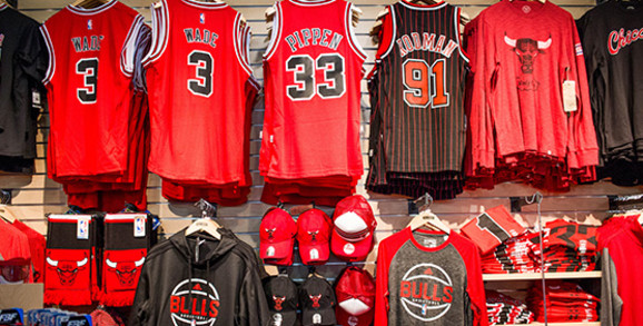 Chicago Bulls Apparel and Gear