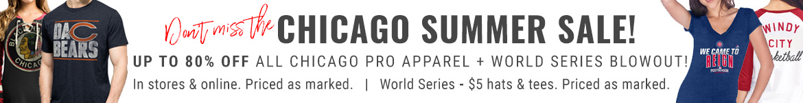 Save 25% on Chicago Pro Apparel!