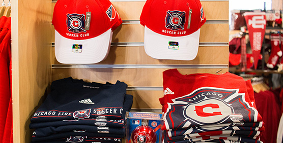Chicago Fire Apparel and Gear