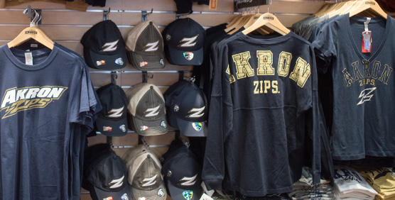 Akron Zips Apparel and Gear