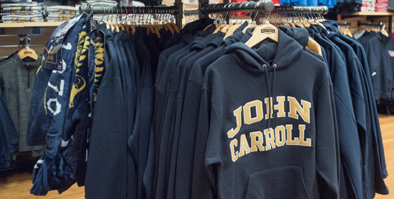 John Carroll Apparel and Gear