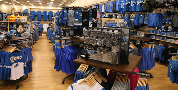 Detroit Lions Apparel and Gear