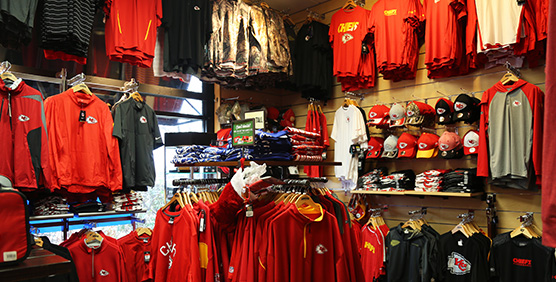 Kansas City Chiefs Apparel and Gear