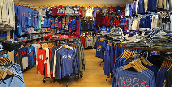Kansas Jayhawks Womens Apparel and Gear