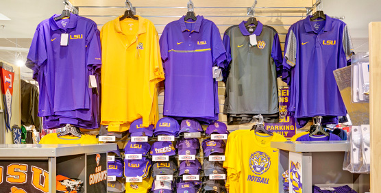 LSU Tigers Apparel And Gear