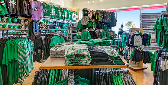 Dallas Stars Apparel and Gear
