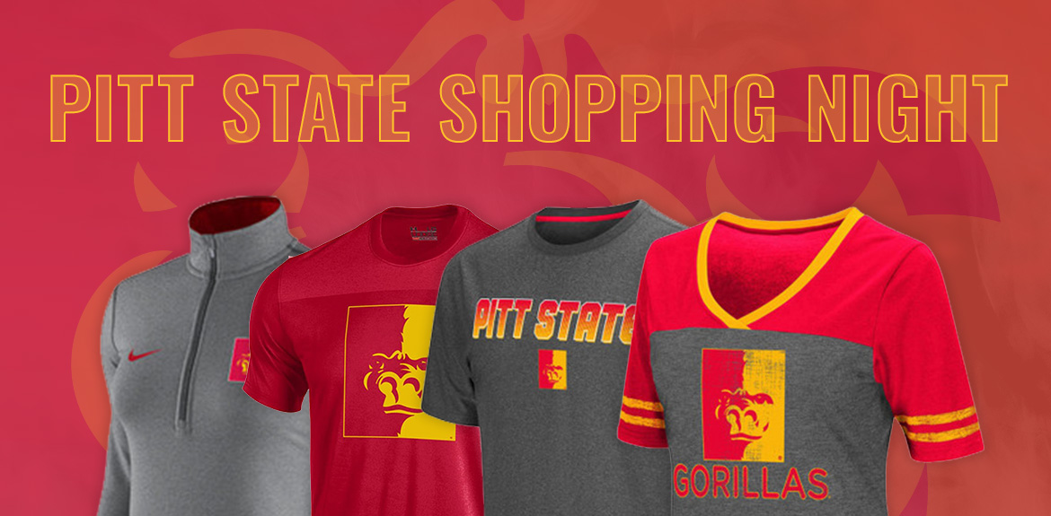 Pitt State Shopping Night