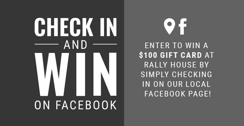 Check In and Win On Facebook