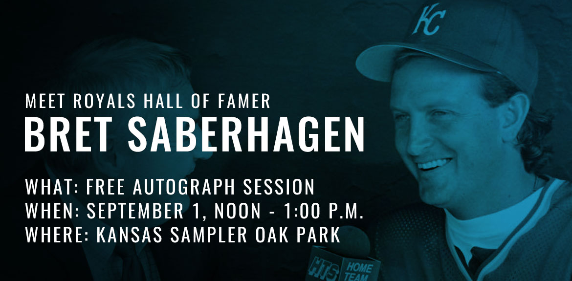 Free Autograph Session with Bret Saberhagen