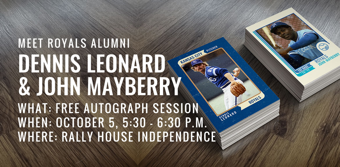 Meet Royals Alumni Dennis Leonard and John Mayberry