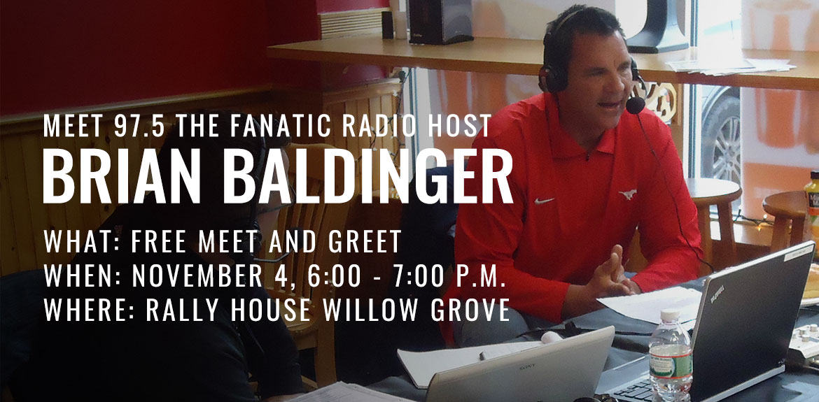 Meet 97.5 the Fanatic Radio Host Brian Baldinger