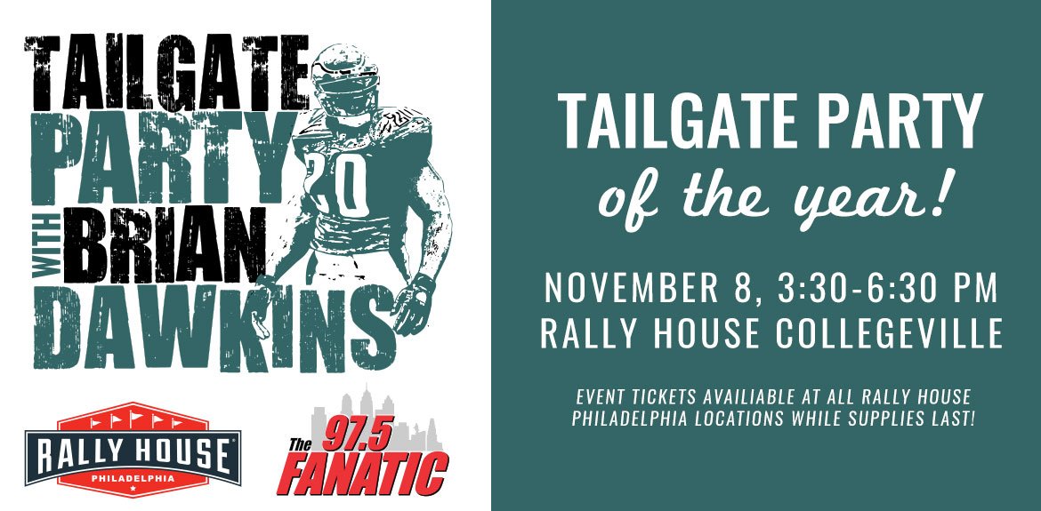 Tailgate Party With Brian Dawkins