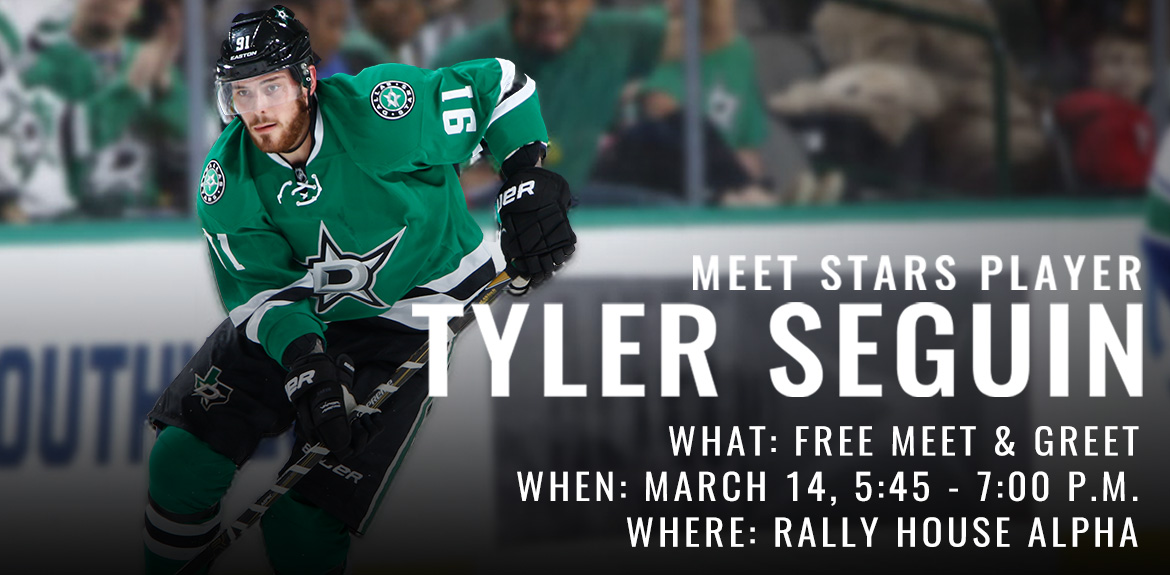 Free Meet & Greet with Tyler Seguin