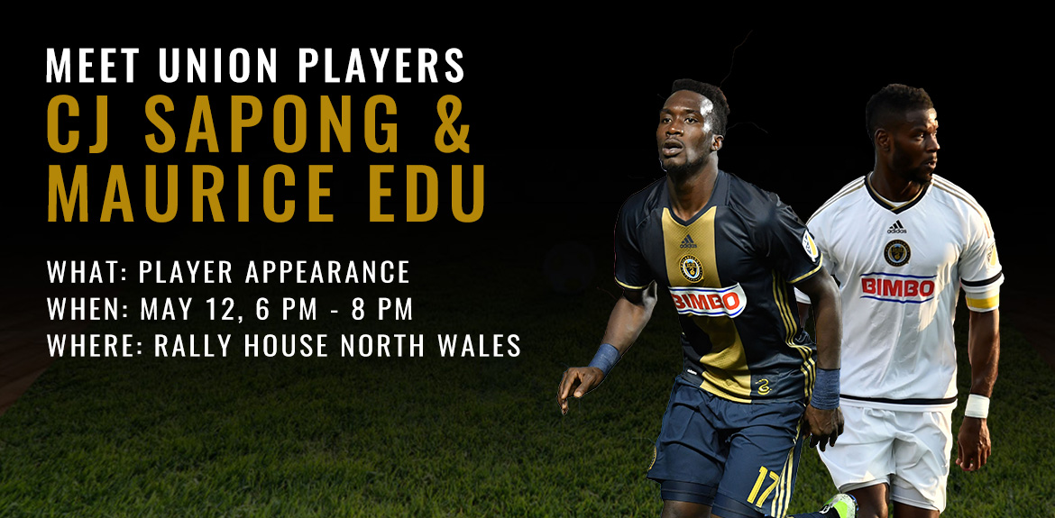Free Autograph Session with CJ Sapong and Maurice Edu